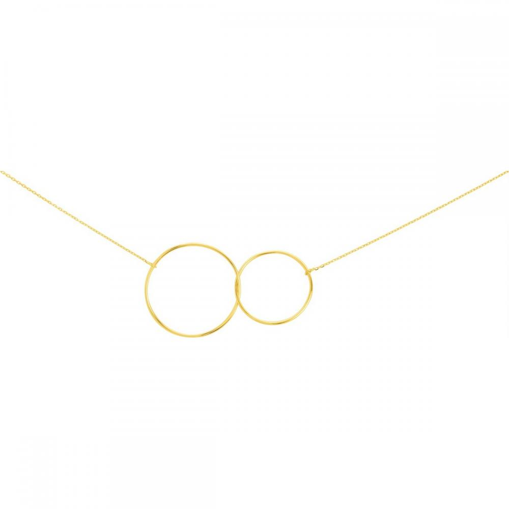 Collier double cercles