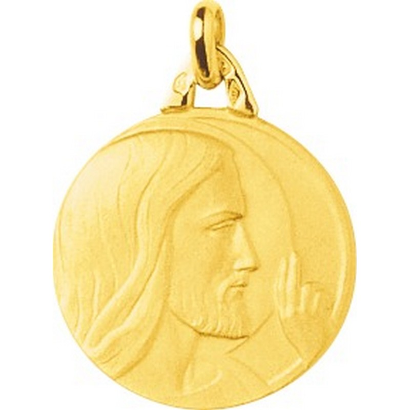 Médaille Christ or 18k