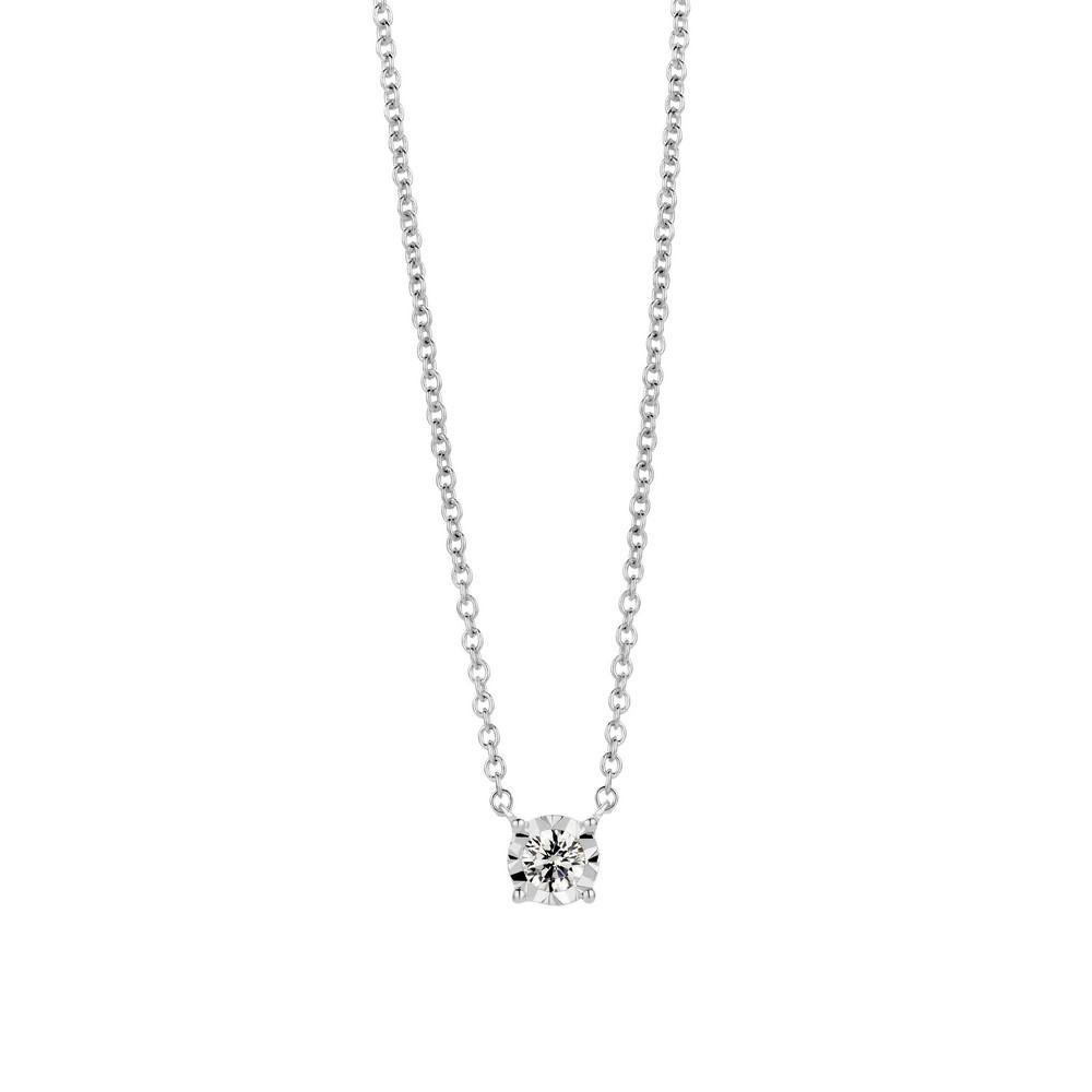 bijoux femme davice pendentif solitaire diamant ref n10007. Black Bedroom Furniture Sets. Home Design Ideas